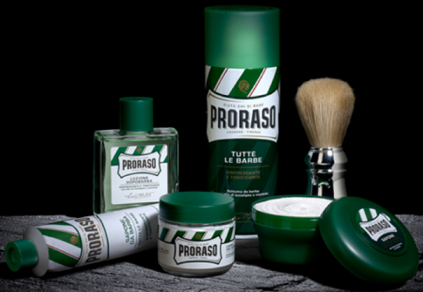 PRORASO Preshave Cream Green Refresh, 300ml