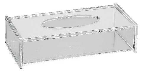 Friseur Produkte24 - Kleenex-Box-Kosmetik-Aufbewahrungsbox