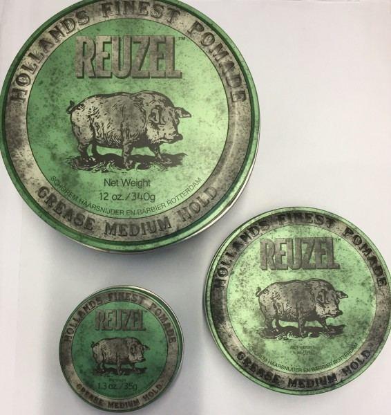 Friseur Produkte24, Reuzel Pomade grün