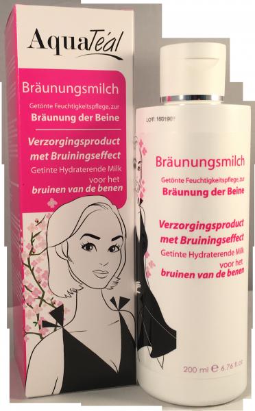AQUATÉAL Bräunungsmilch, 200 ml