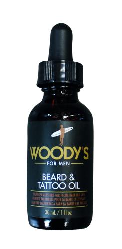 WOODY`S Bartschere + Beard & Tattoo Oil, 30ml