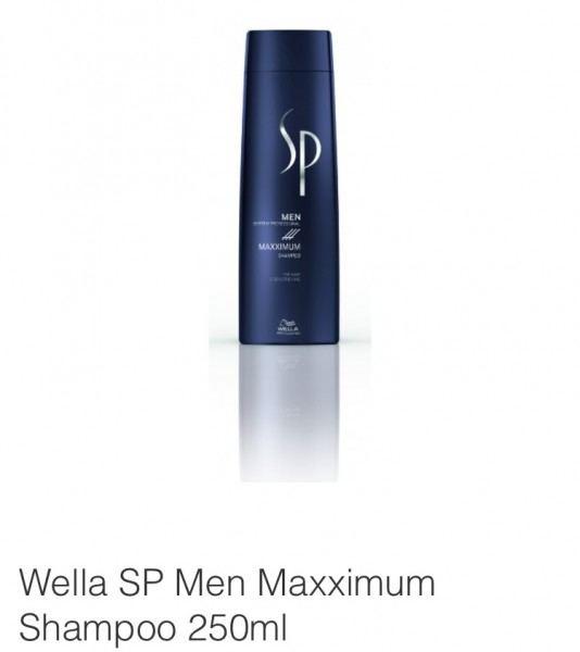 Friseur Produkte24 - Wella SP Men Maxximum Shampoo