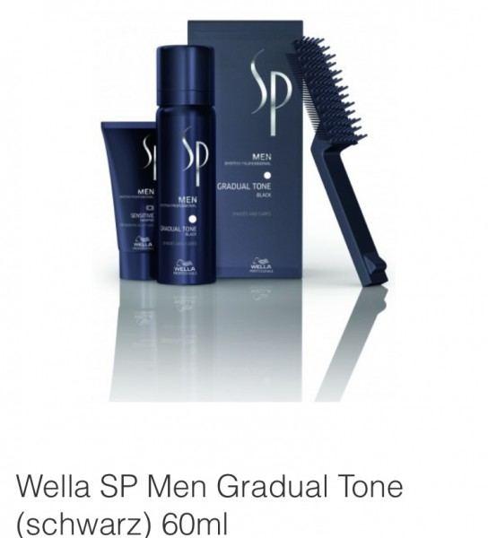 Friseur Produkte24 - Wella SP Men Gradual Tone Schwarz