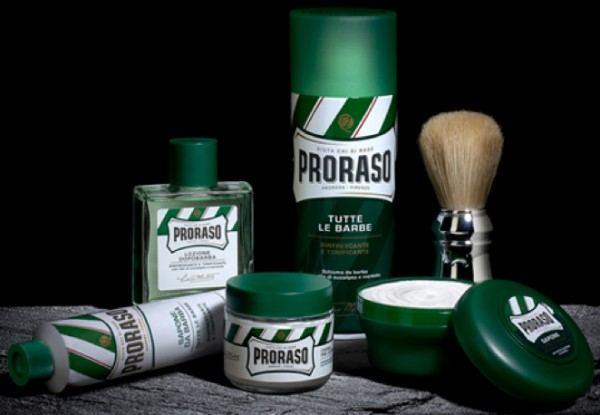PRORASO Shaving Cream Green Refresh Tube, 150ml