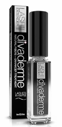 DIVADERME LASH EXTENDER II schwarz, 9 ml